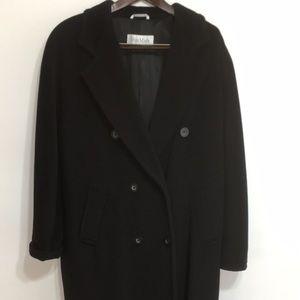 Vintage MaxMara double breasted pea coat
